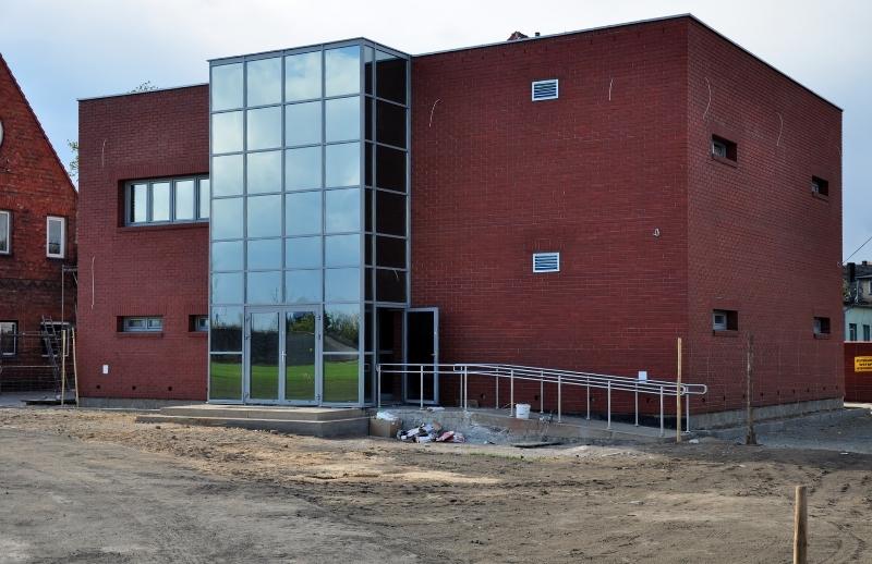 You are browsing images from the article: Budowa Domu sportowca przy stadionie miejskim w Międzychodzie wraz z zagospodarowaniem terenu wydzielonego pod Centrum treningowe - zakończona
